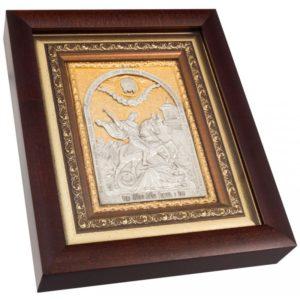 Подарочная икона святой Георгий Победоносец