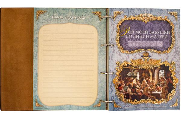 Подарочное издание «Родословная книга – Семейная летопись»