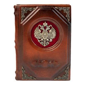 Подарочный ежедневник «Гербовой» в эксклюзивной шкатулке