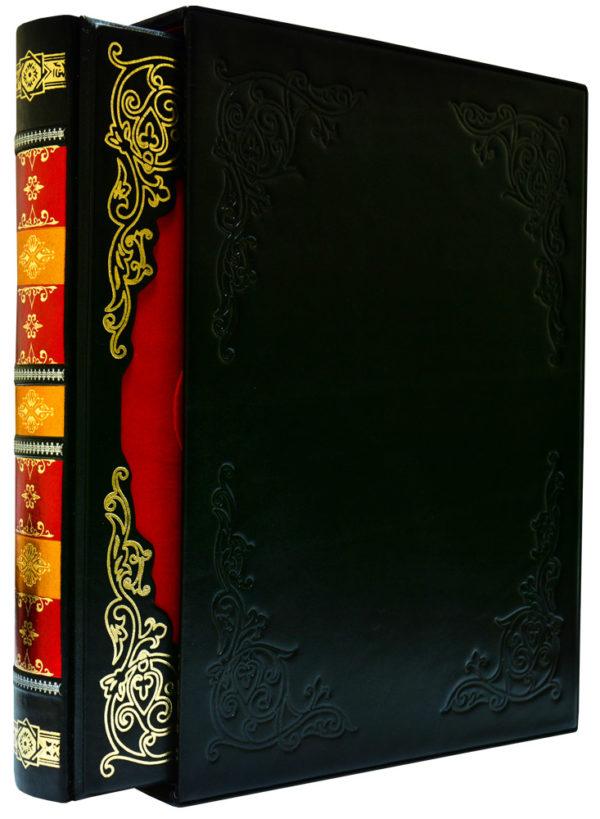Книга «Энциклопедия Живописи» в кожаном переплете