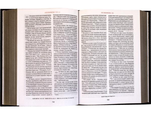 Книга «Библия. Ветхий и Новый Завет» разворот