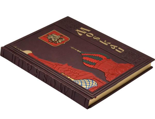 Подарочное издание-фотоальбом «Москва» на немецком языке