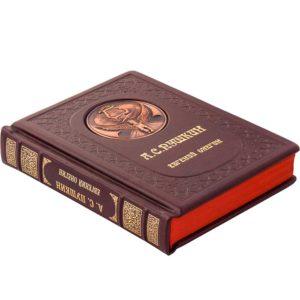 Подарочное издание «Евгений Онегин» в кожаном переплете, Александр Пушкин