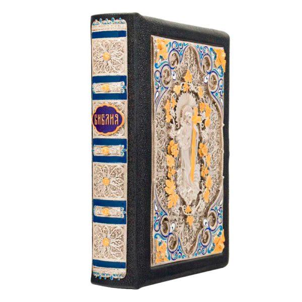 Книга «Библия» издание в красивом кожаном переплете