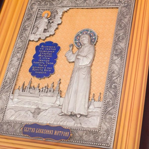 Подарочная икона «Матрона Московская»