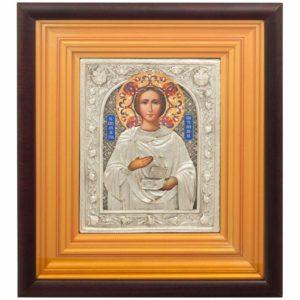 Подарочная икона «Святой великомученик и целитель Пантелеймон»