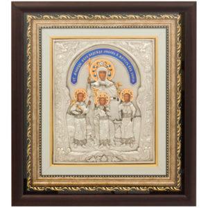 Подарочная икона «Вера, Надежда, Любовь и мать их София»