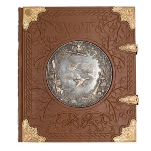 Элитная подарочная книга «Курт Блюхель: Охота» элитное издание