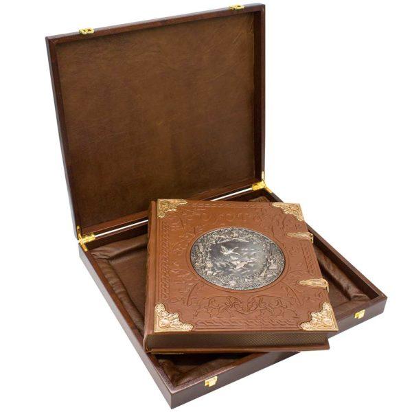 Книга «Курт Блюхель: Охота» элитное издание в шкатулке для для эксклюзивного подарка