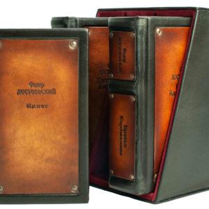 Подарочное издание «Достоевский: избранные сочинения» в трех томах