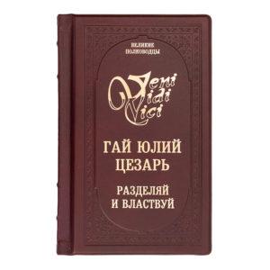Подарочное издание «Гай Цезарь: Разделяй и властвуй! Записки триумфатора»