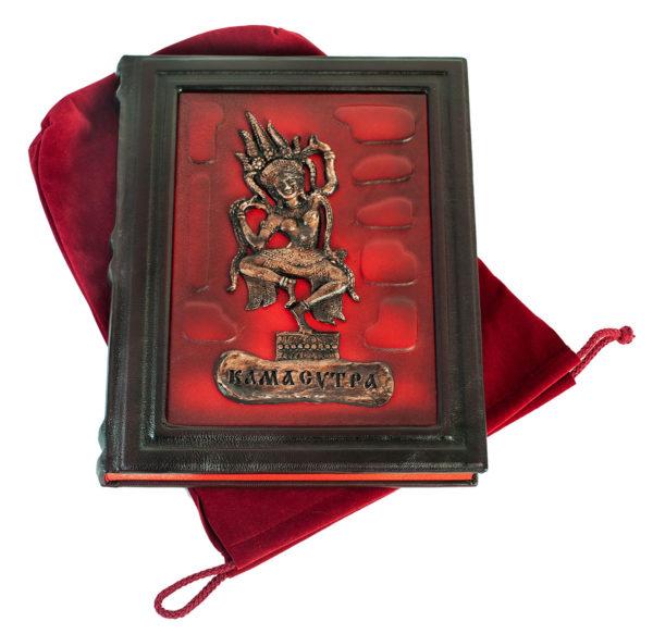 Подарочное издание «Камасутра» в кожаном переплете