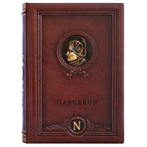 Подарочное издание «Наполеон: высказывания и афоризмы» в кожаном переплете