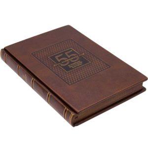Книга в коже «Речи, изменившие мир. 55 важнейших выступлений в истории» подарочное издание