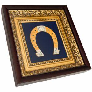 Подарочное настенное панно «Подкова»