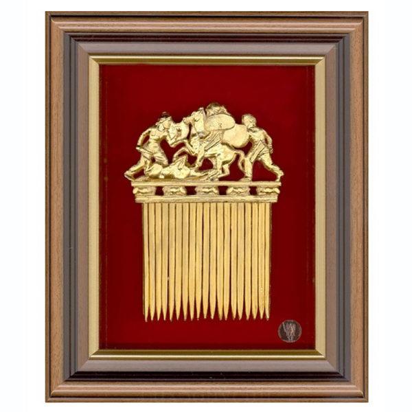 Подарочное настенное панно «Скифский гребень»