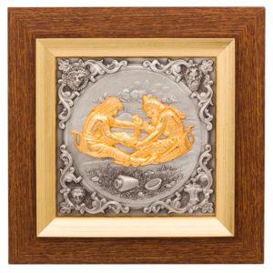 Подарочное настенное панно «Скифское золото» с серебрением и золочением