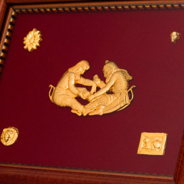 Подарочное настенное панно «Скифское золото»