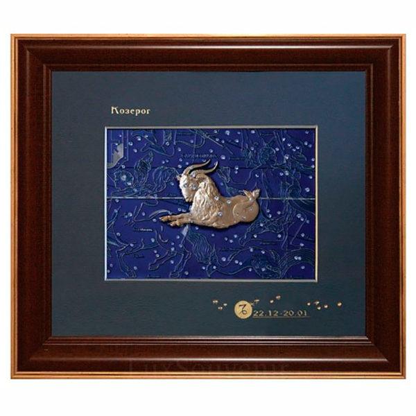 Подарочное настенное панно «Знак зодиака Козерог»