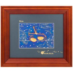 Подарочное настенное панно «Знак зодиака Весы»