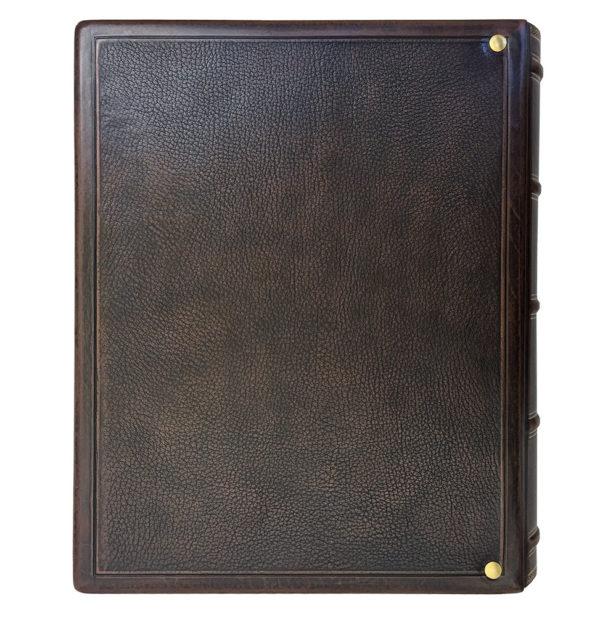 Родословная книга с гербом России в кожаном переплете