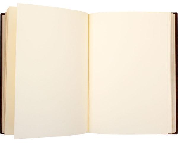 книга с чистыми листами для отзывов