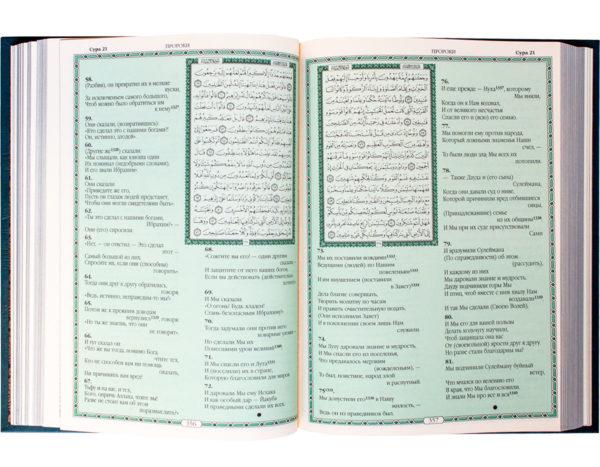 Подарочная книга «Коран» на арабском и русском языке