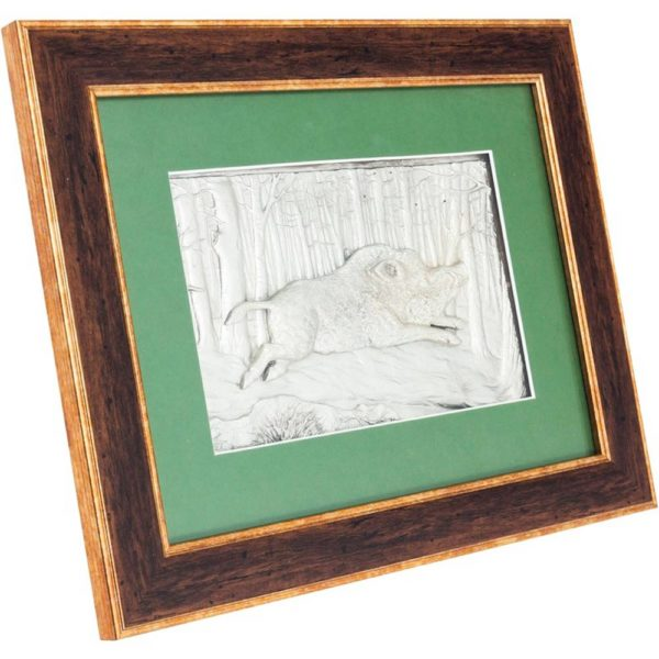 Подарочное настенное панно «Кабан»