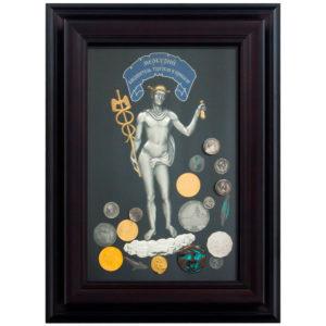 Подарочное настенное панно «Меркурий»