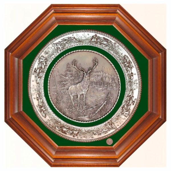 Подарочное настенное панно «Охота на оленя»