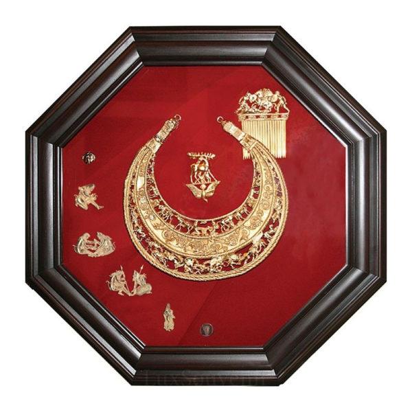 Подарочное настенное панно «Скифская пектораль»