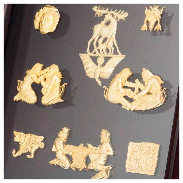 Подарочное настенное панно «Скифское золото: украшения»