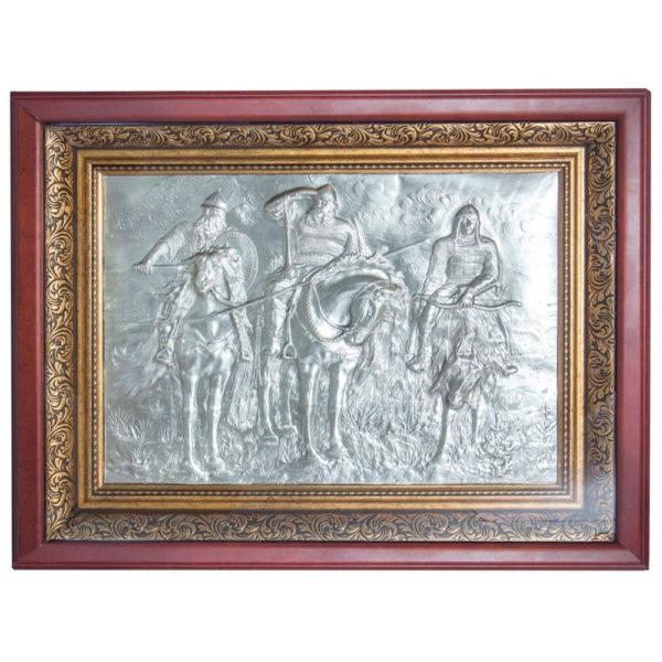 Подарочное настенное панно «Три богатыря»