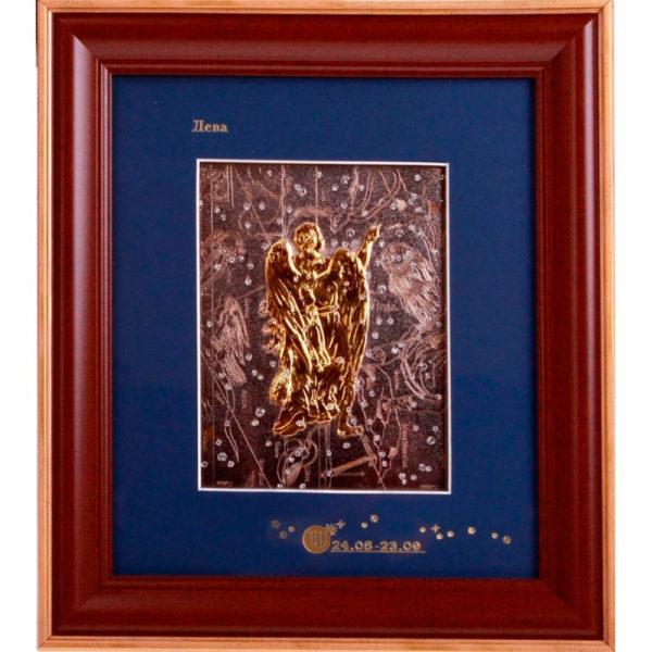 Подарочное настенное панно «Знак зодиака Дева»