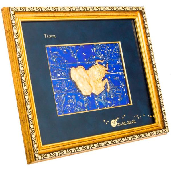 Подарочное настенное панно «Знак зодиака Телец»