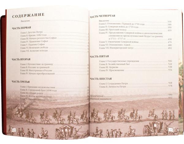 Книга «Брикнер: История Петра Великого» Содержание