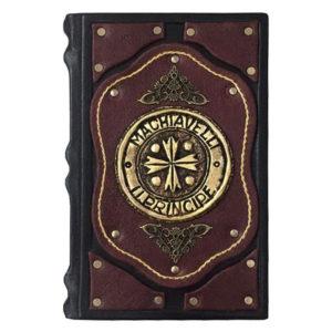 Подарочная книга «Макиавелли: Государь» в кожаном переплете