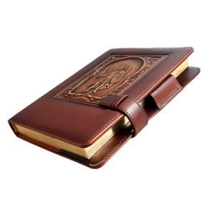 «Архангел Михаил» кожаный ежедневник для подарка