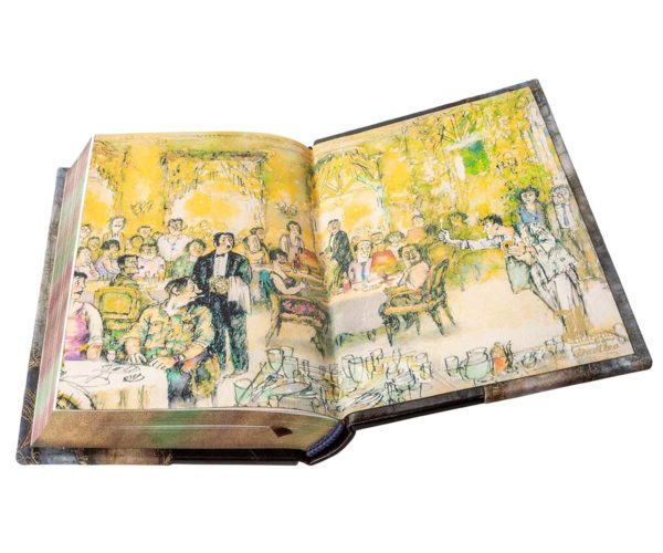Книга «Булгаков: Мастер и Маргарита» кожаном переплете