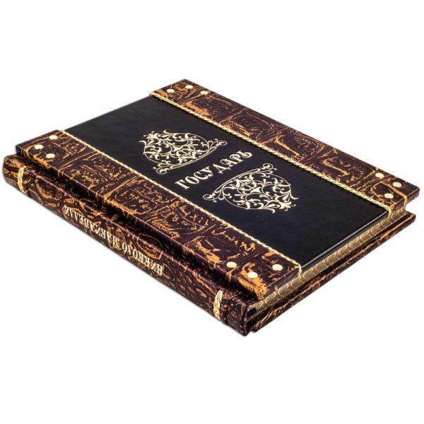 Элитная книга «Никколо Макиавелли: Государь» в кожаном переплете