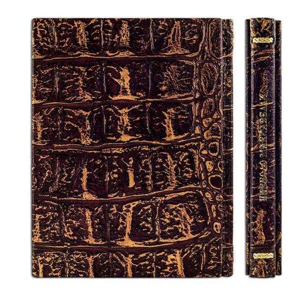 Оборот переплета «Никколо Макиавелли: Государь» элитная книга