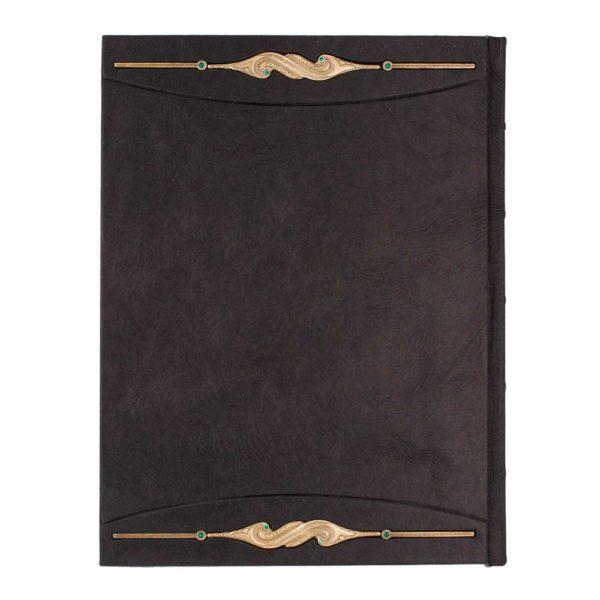 Кожаный переплет «Книга мудрости» подарочное издание