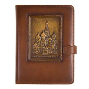 Подарочный ежедневник «Собор Василия Блаженного»