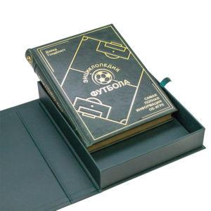 Книжное издание для подарка «Энциклопедия футбола. Самая полная информация об игре»