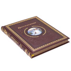 «Охота во все времена» книга в кожаном переплете