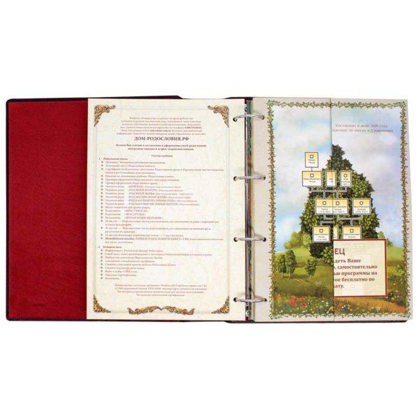 Книга «Древо рода» подарочное издание