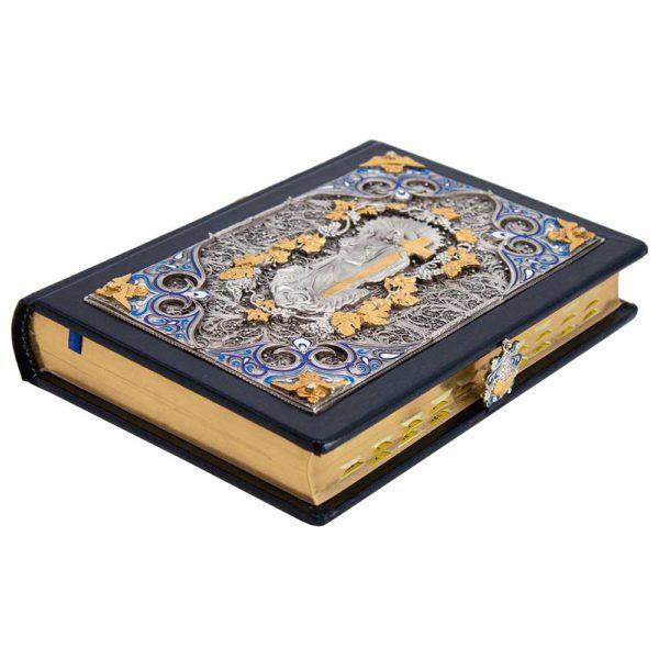 Подарочная «Библия» издание с золотым обрезом и сканью