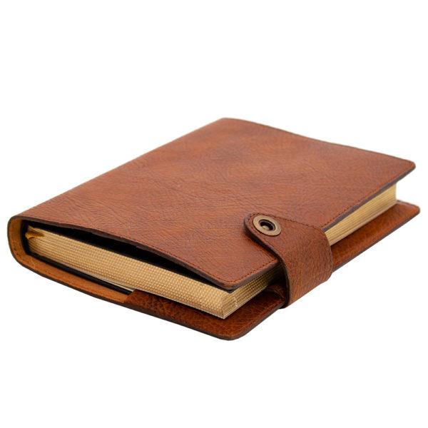 Кожаный ежедневник из натуральной кожи «Планер»