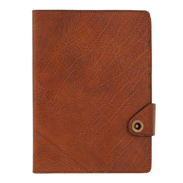 Кожаный ежедневник «Планер» коричневый для подарка