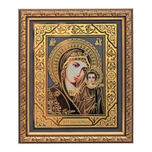 Подарочная икона «Богородица Казанская» в шкатулке – футляре